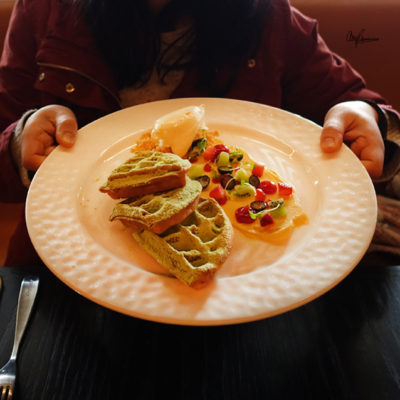 Sokyo - Green Tea Waffles
